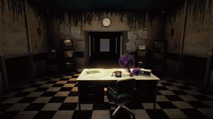 Five Nights at Freddys 2 exibe seu escritório ainda mais assustador, aberto pela frente (Foto: Reprodução/Kotaku)