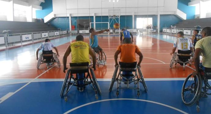Ascante, basquete para cadeirantes (Foto: Reprodução/facebook)