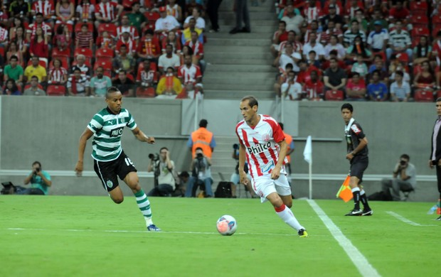 Náutico x Sporting (Foto: Aldo Carneiro/ Pernambuco Press)