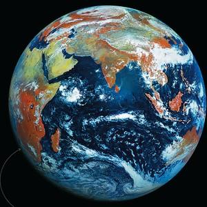 Planeta vermelho? (Foto: NTSOMZ)