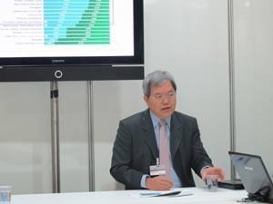 Claudio Yamaguti, presidente da Abecs. (Foto: Fabíola Glenia/G1)