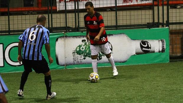 Djalminha Flamengo x Grêmio Brasileiro showbol (Foto: Divulgação/Ricardo Cassiano)