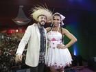 Belo e Gracyanne comemoram 4 anos de união em festa junina social