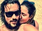 Paloma Duarte posa com Bruno Ferrari: 'Meu marido é um gostoso'