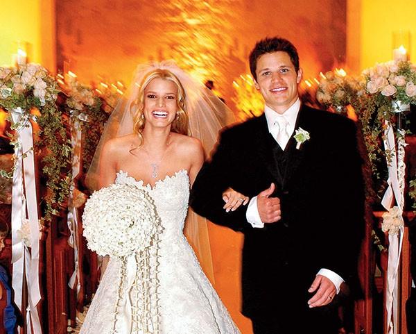 Jessica Simpson e Nick Lachey (Foto: Reprodução / Redes Sociais)