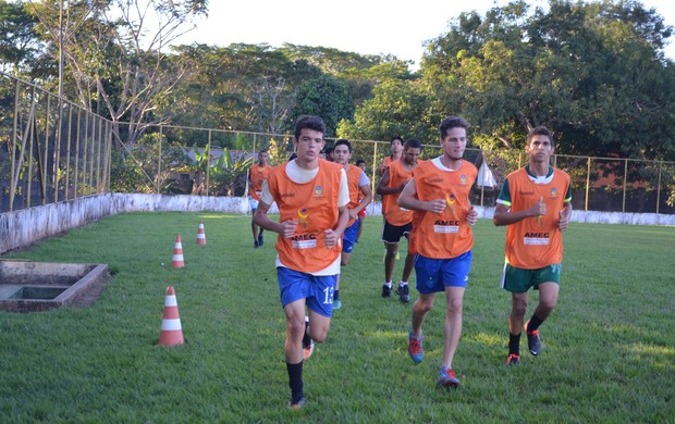 Equipe Sub-20 do União Cacoalense (Foto: Magda Oliveira)
