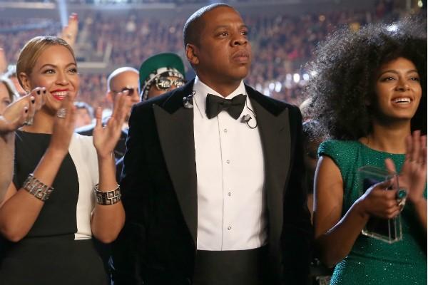 Beyoncé, Jay-Z e Solange Knowles (Foto: Getty Images)