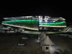 Arena Pantanal recebe primeiro jogo da Copa em Cuiabá. (Foto: Edson Rodrigues/Secopa)