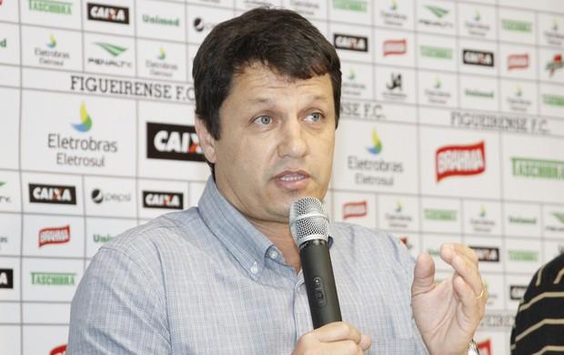 Adilson Batista, técnico do Figueirense (Foto: Luiz Henrique, divulgação / FFC)