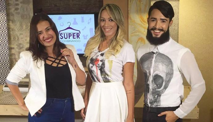 Rafaella Vieira, Fernanda Pinheiro e Alisson Vicky (Foto: TV Sergipe)