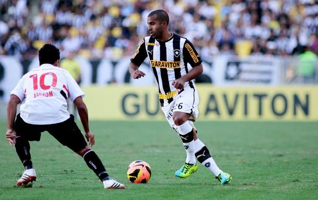 Julio Cesar Botafogo jadson são paulo Brasileirão (Foto: Giuliano Gomes / Agência Estado)