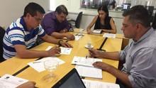 Inter TV faz reunião e define cobertura do 2º turno (Juliana Gorayeb/G1)
