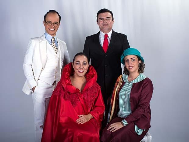 Personagens Tarsila do Amaral, Anita Malfatti, Oswald de Andrade e Mário de Andrade estarão presentes na história (Foto: Ares Soares/Unifor)