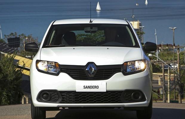 Novo Renault Sandero Expression (Foto: Divulgação)