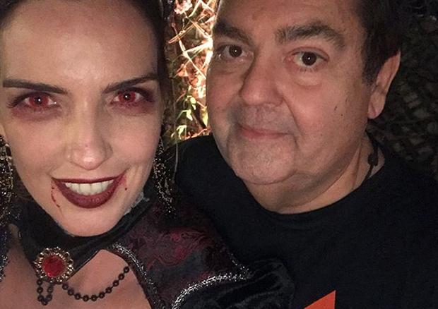 Luciana Cardoso e Faustão (Foto: Reprodução/ Instagram)