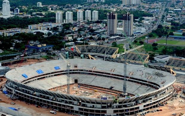 Arena da Amazônia Manaus Amazonas (Foto: Chico Batata/Agecom)