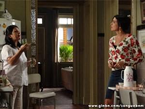 Odila incentiva que Rosemere se vingue de Perácio e Brenda (Foto: Sangue Bom/ TV Globo)