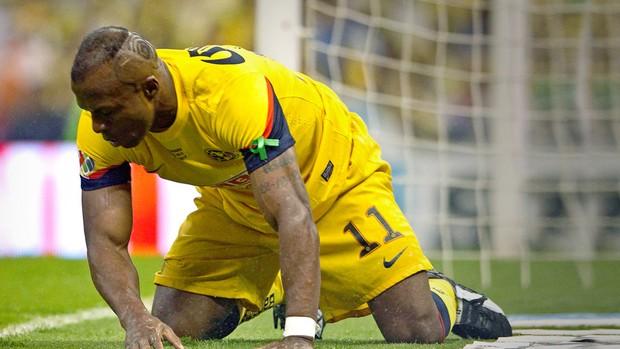 Christian Benitez jogador Equador falecido (Foto: AP)