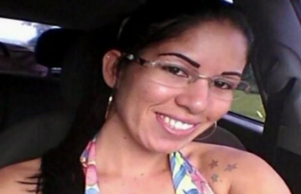Larissa Agda de Carvalho foi morta a facadas em Jataí, Goiás (Foto: Reprodução/ TV Anhanguera)