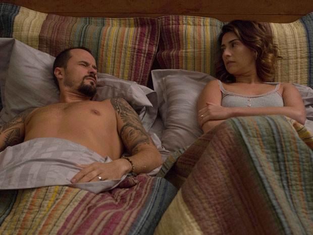 Paulo Vilhena e Fernanda Paes Leme em cena do filme 'O amor no divã' (Foto: Aline Arruda/Divulgação)