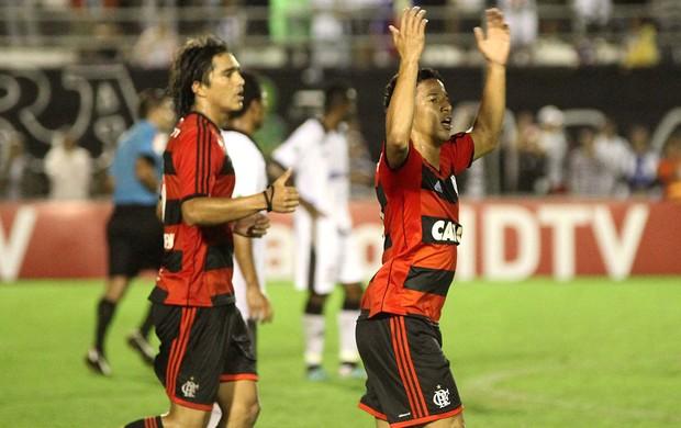 Nixon comemora, Flamengo x Asa (Foto: Itawi Albuquerque/Futura Press)