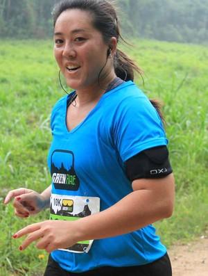 Tatiane Harumi Yamaguchi, sicronizada, Eu Atleta (Foto: Arquivo Pessoal)