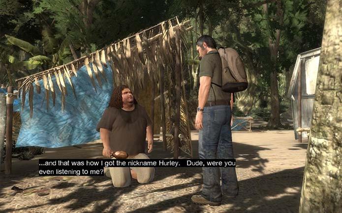 Nem a popularidade de Lost melhorou a fama de seu jogo (Foto: Reprodução)