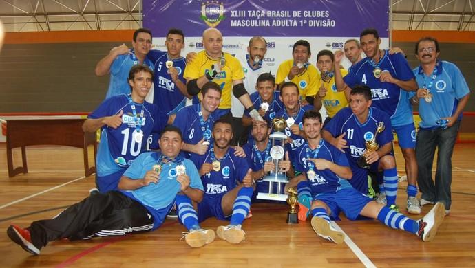 Cruzeiro/Nossa Terra Taça Brasil Futsal (Foto: Leandro Sanches/PMA)