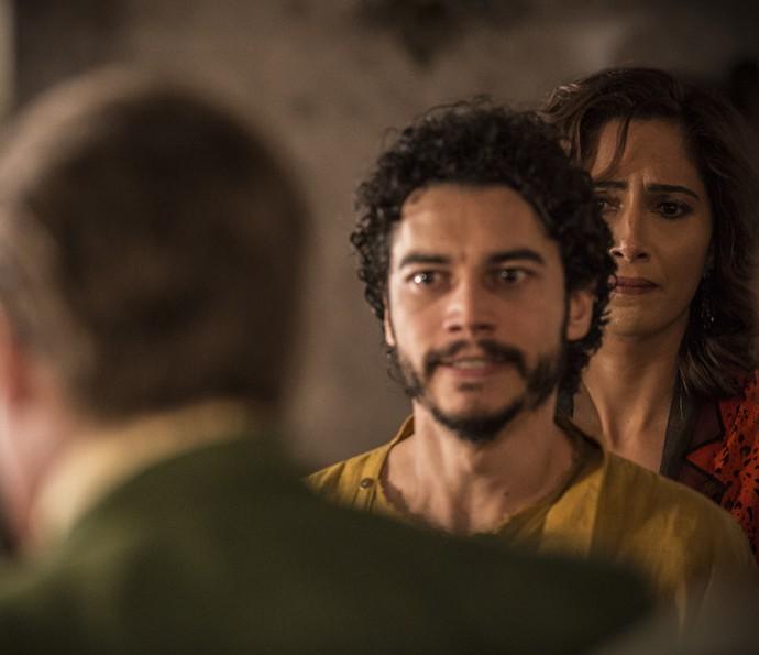Martim confronta o pai (Foto: Inácio Moraes/ Gshow)