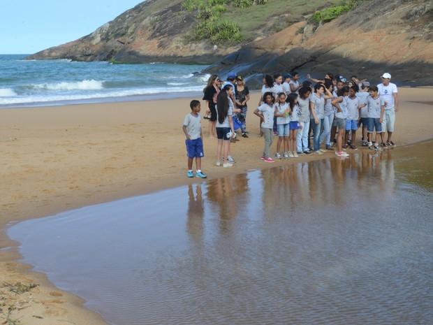 Seca no Espírito Santo faz Rio Jucu não encontrar mais o mar (Foto: Carlos Alberto Silva / A Gazeta)