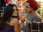 Nanda Costa trava batalha em primeiras cenas em 'Império'