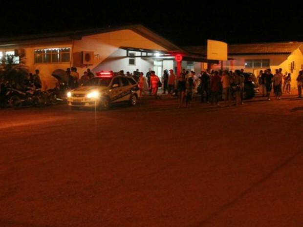 Bar onde aconteceu o crime, em Espigão D'Oeste (Foto: Alerta Espigão/Reprodução)