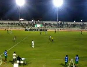 Assu x Santa Cruz-RN, no Estádio Iberezão (Foto: Fidel Nunes)