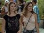 Galera estranha 'amizade' de Luciana e Ciça