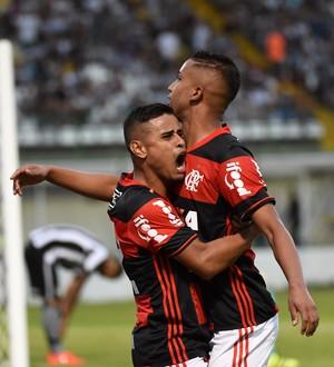Jorge gol Flamengo  (Foto: André Durão)
