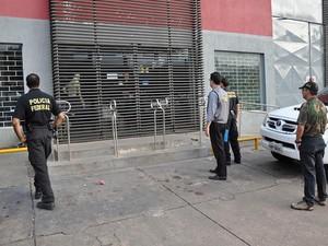 Operação 'Fidare' ocorre em Cuiabá, Cáceres, Sinop e Goiás. (Foto: Assessoria/ PF)
