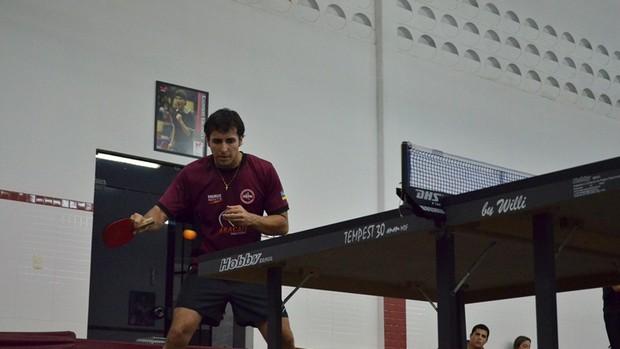 Equipe sergipana fez bonito em Santos  (Foto: João Áquila/GLOBOESPORTE.COM)
