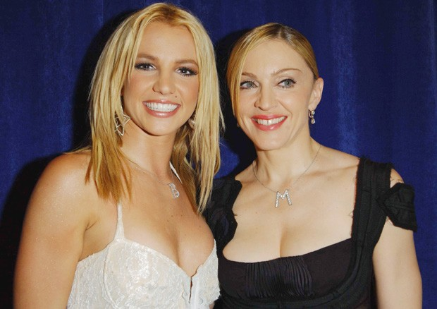 Britney Spears e Madonna (Foto: Getty Images)