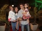 Giovanna Antonelli comemora aniversário das filhas com festa no Rio
