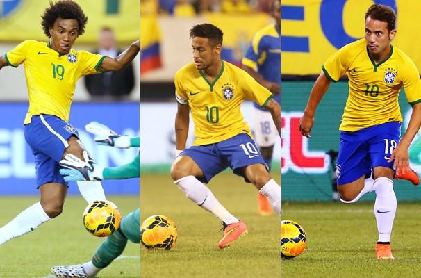 Seleção joga terceira partida sob o comando de Dunga (Foto: Rafael Ribeiro/CBF / Bruno Domingos/Mowa Press / Reuters)