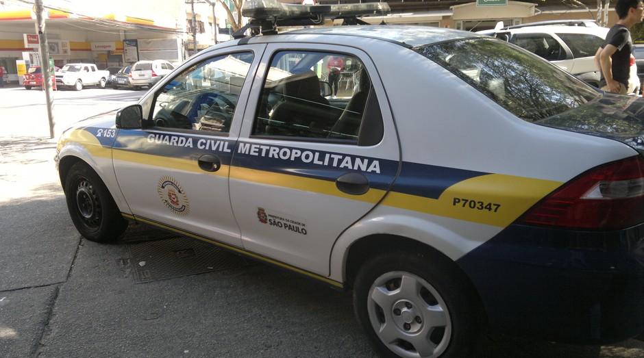 Viatura da GCM. Policiais estão sem seguro por morte ou invalidez (Foto: Divulgação)