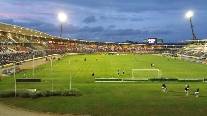 Estádio Rei Pelé - CSA x CRB, Copa do Nordeste (Foto: Augusto Oliveira/GloboEsporte.com)