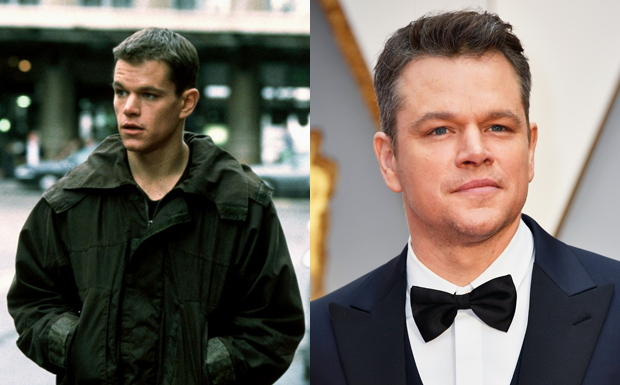 Antes e Depois - 'A Identidade Bourne'