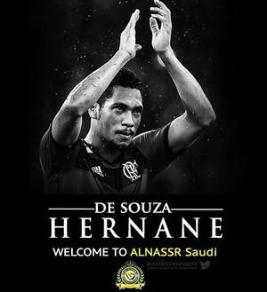 Hernane  Al Nassr (Foto: Reprodução / Twitter)