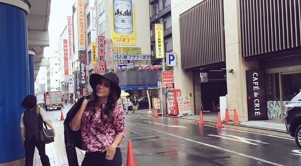 Anitta em Nagoya, no Japão (Foto: Instagram/ Reprodução)