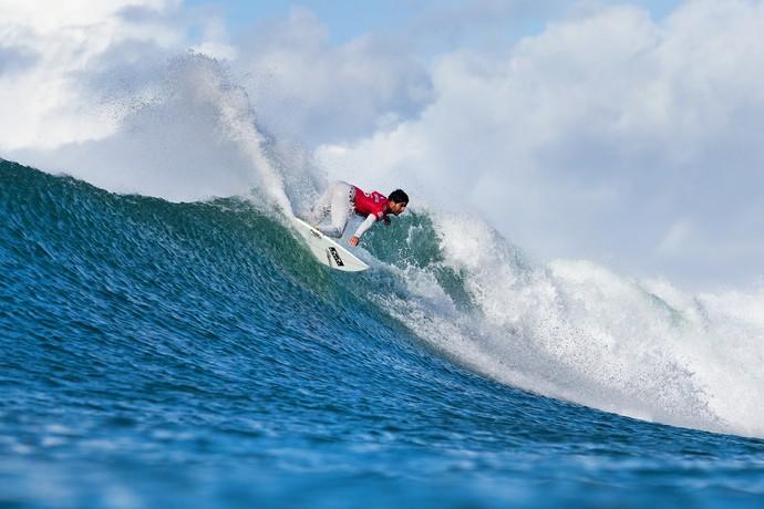 Italo Ferreira em ação na 2ª fase da etapa de Jeffreys Bay (J-Bay) Mundial de Surfe (Foto: WSL / Cestari)