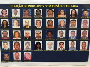 Procurados por integrar quadrilha de prática de aborto no Rio (Foto: Janaína Carvalho/ G1)