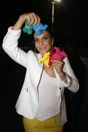 Ivete Sangalo em evento em Salvador, na Bahia (Foto: Fred Pontes/ Divulgação)