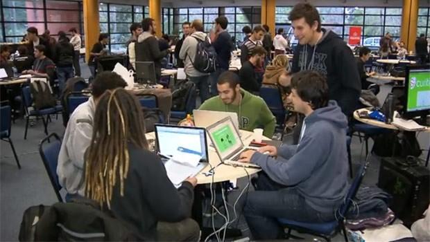 Estudantes criaram soluções de saúde, transporte e cidadania para facilitar a vida de quem mora em Curitiba (Foto: Reprodução)