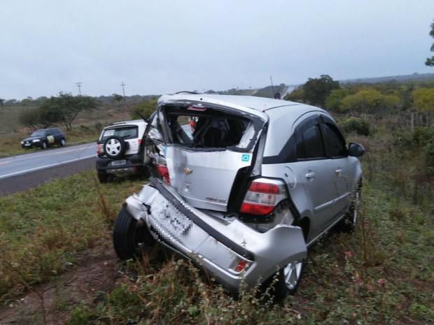 Colisão ocorreu entre cidades de Nova Fátima e Gavião, segundo polícia (Foto: Gobyrios.com)
